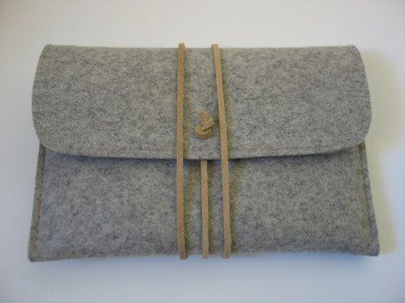 Caso di Kindle Paperwhite feltro di lana grigio con di echoshop