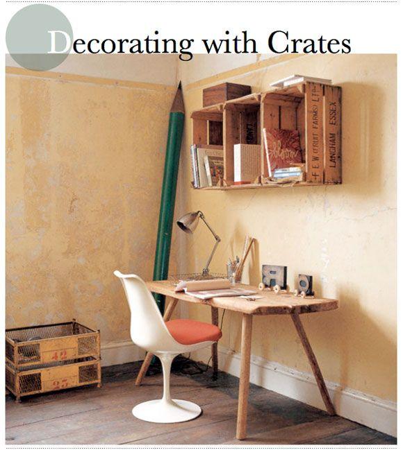 1 bright bazar libreria credenza pallet wood pinterest - Arredare riciclando mobili ...