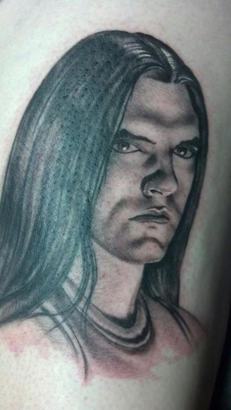 peter steele type o negative | portrait tattoos | Peter ...