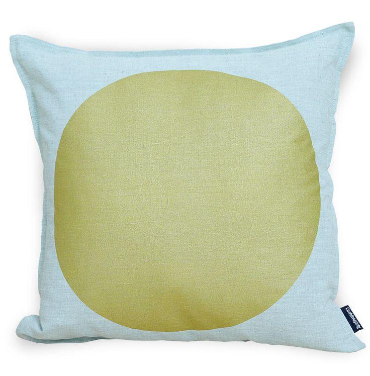 All That Glitters Cushion - Mint