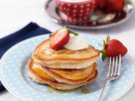 Amerikanska pannkakor Receptbild - Allt om Mat