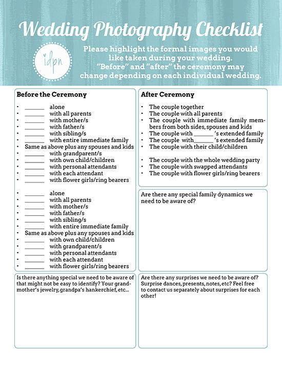 Best 25+ Wedding Photography Checklist Ideas On Pinterest