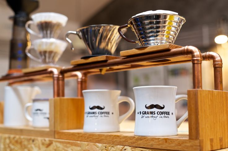 Brewing bar for filters coffees 9 grams