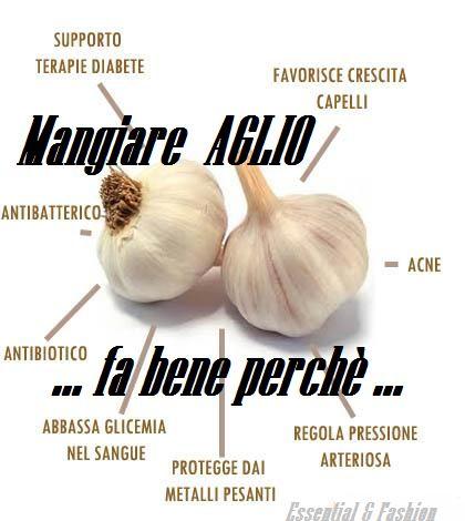 Proprietà medicinali dell'aglio ,,, www.facebook.com/essentialandfashion
