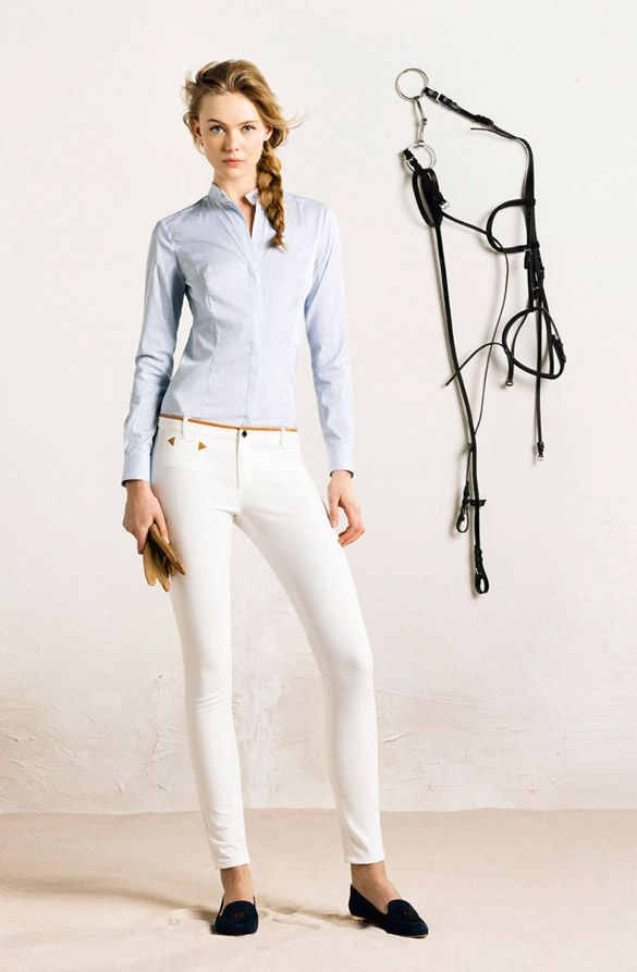 """Special collection of """"Massimo Dutti"""" for girls with a sporting spirit, 2014 