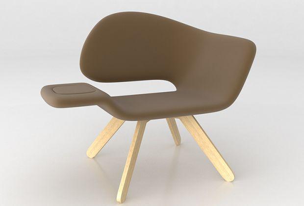 Smoking Chair. Dsignio Estudio www.room-digital.com