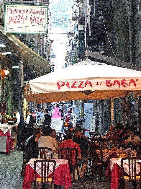 Via Montecalvario, Naples, Italy