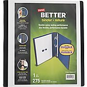 Shop Staples® for Staples® Better Binder, 1'', White and enjoy everyday low prices, and get everything you need for a home office or business.