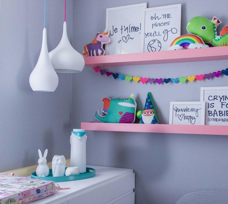 296 melhores imagens de quarto de beb ideias baby 39 s for Cama unicornio