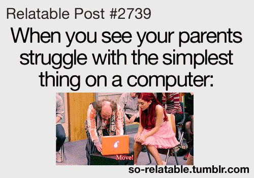 TEENAGER Post School | ... computer gifs true ariana grande internet parents so true teen quotes