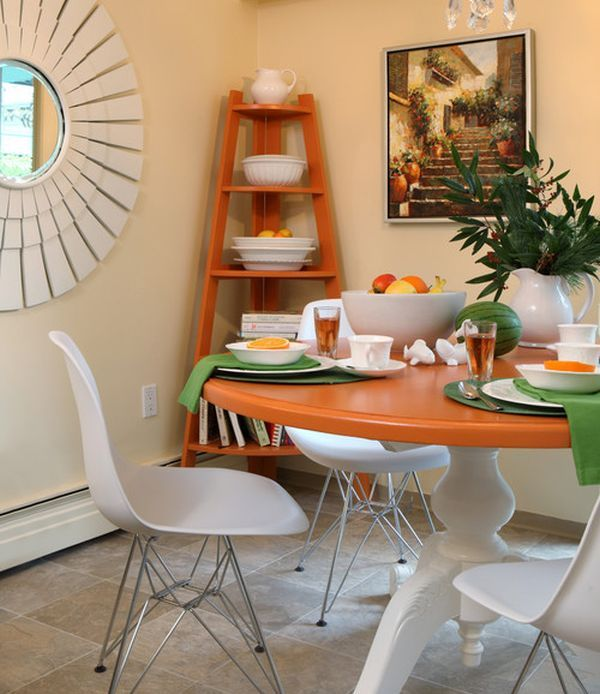 Dining Room Corner Decorating Ideas Space Saving Solutions: 24 Best Images About Corner Shelf Units Ideas On Pinterest