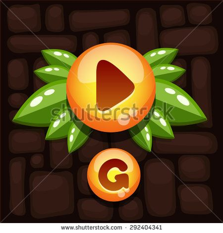 mobile game buttons - Google Search