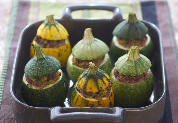 Courgettes farciesVoir la recette des Courgettes farcies >>