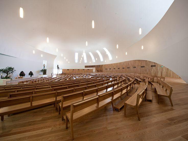 These Religious Architecture Award Winners Evoke The Sacred In Unconventional Ways:  Boa Nova Church, Estoril, Portugal.