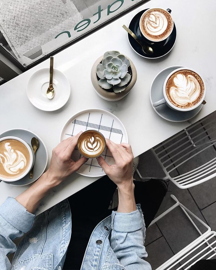 "2,884 Likes, 97 Comments - melissa male (@melissamale) on Instagram: ""when a coffee spot has perfect latte art, gold spoons, cute plants and lots of natural light you…"""