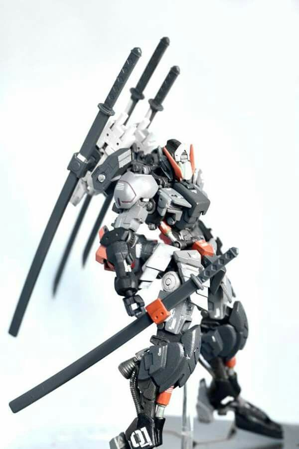 Gundam barbatos custom build