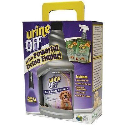 Urine Off PT4525 Dog & Puppy Urine Finder Clean up Kit 500mL