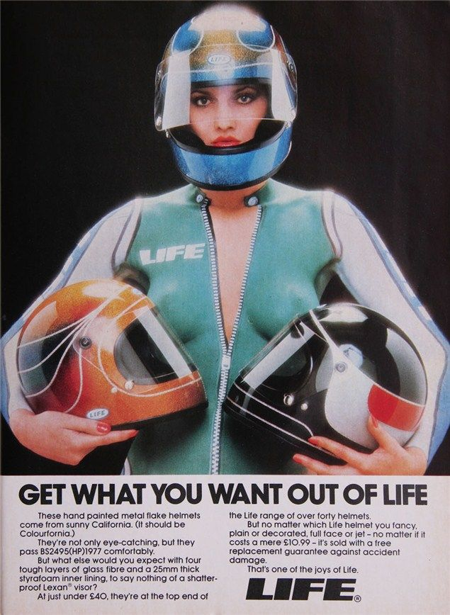 Helmet Girl Motorparade Headwear Pinterest