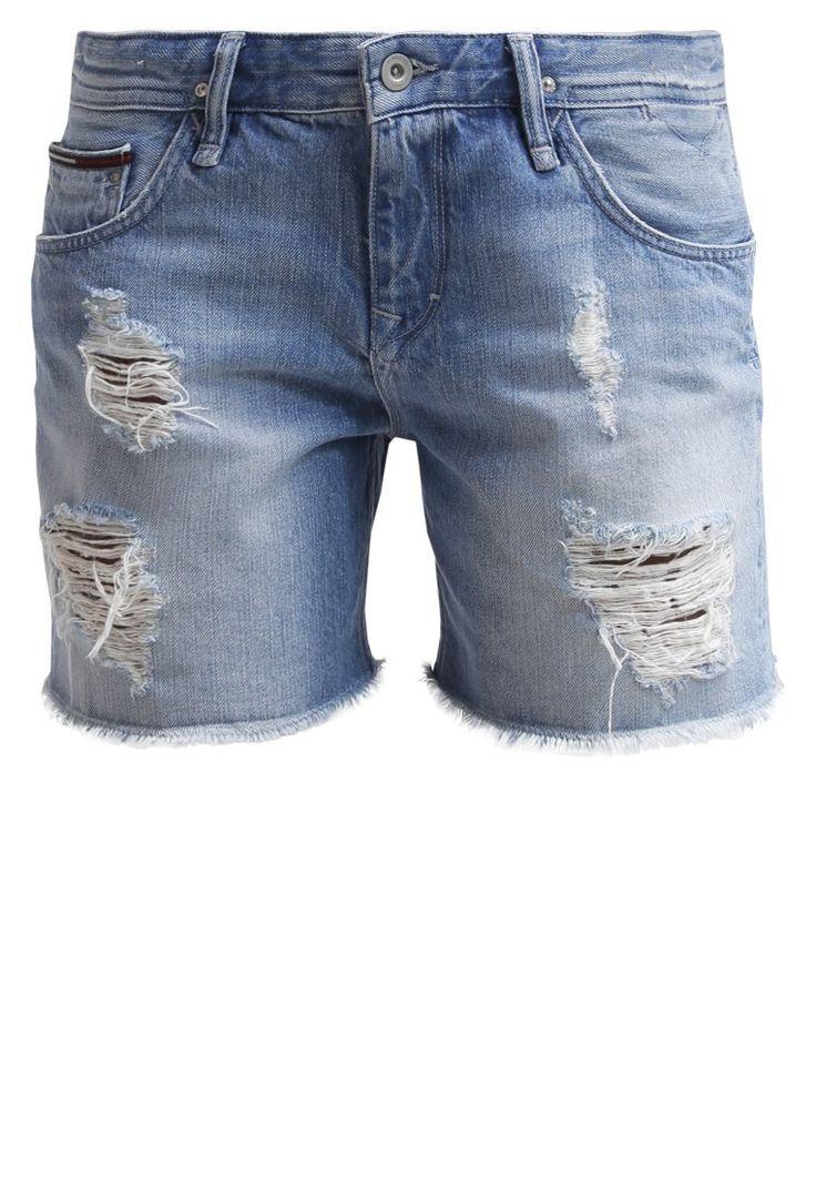 Hilfiger Denim - RIKA - Szorty jeansowe - shell destructed