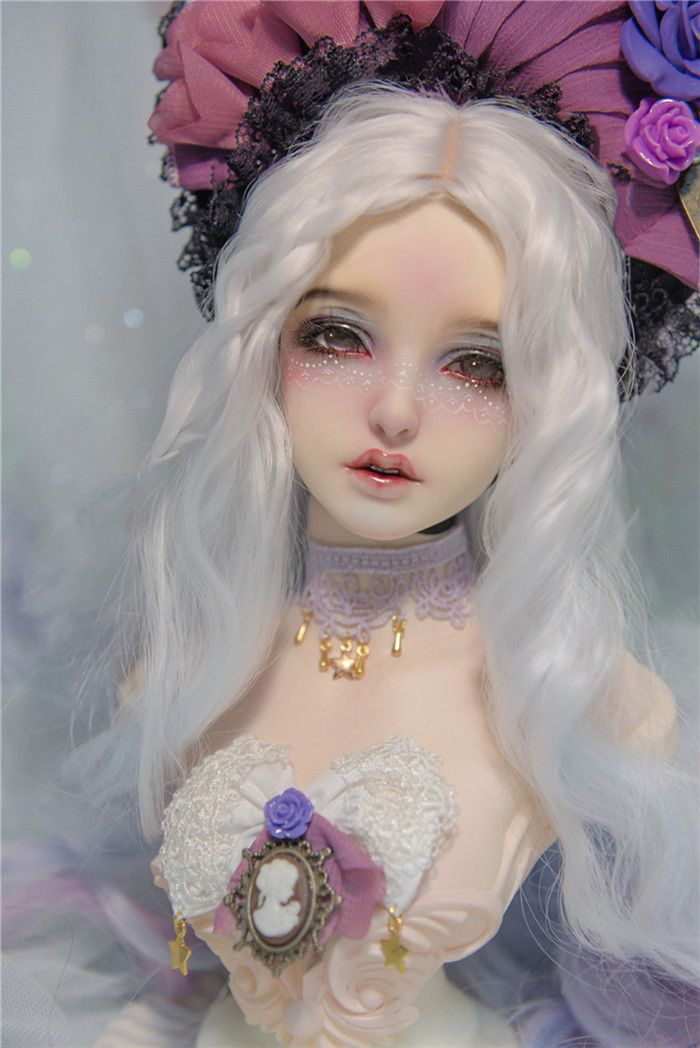 Details About Resin Bjd Head Stand Goddess Bailu Including Head