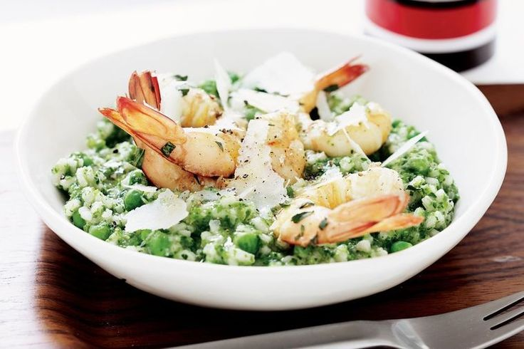 A gluten free risotto the whole family will enjoy.