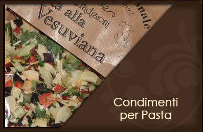 Condimenti per pasta http://www.sapori-tradizioni.it/
