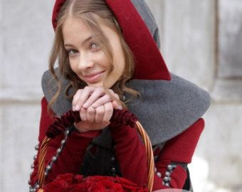 DISCOUNTED PRICE Little Red Riding Hood Coat Costume от armstreet