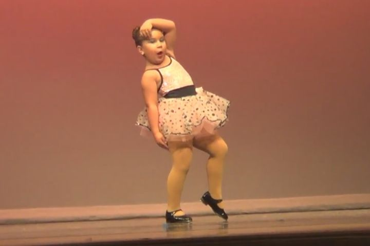 WATCH: Sassy 6-year-old tap dancer wows to Aretha Franklin's 'Respect'