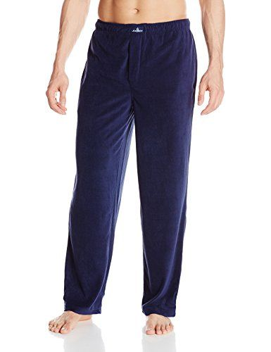 Jockey Men's Solid Micro-Plush Sleep Pant   Jockey Men's Solid Micro-Plush Sleep Pant Lounge in comfort. This ultra-soft lightweight micro plush sleep pant will be a staple in your evening routine. A covered elastic waistband with interior 1/4 Inches twill tape draw cord creates a functional, easy fit. Two side seam pockets and covered button thru fly add to the functionality of this incredibly comfortable micro plush sleep pant.  http://www.allsleepwear.com/jockey-mens-solid-micro..