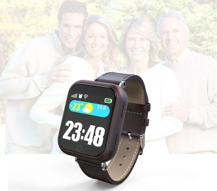 Senioren gps alarm sos horloge