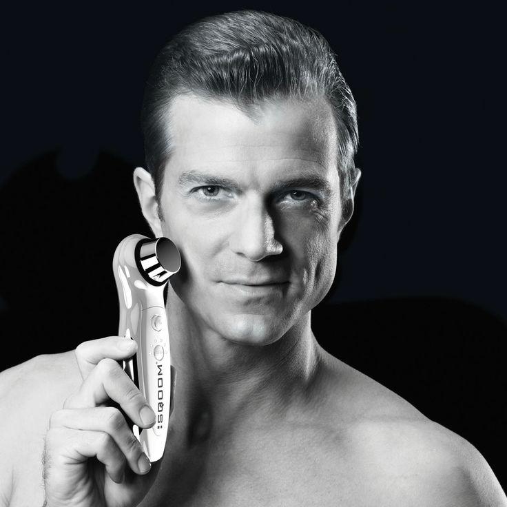 Männerpflege :SQOOM sanftes Ultraschall-Lifting für Zuhause - Gewinner des Health Spa Award 2011