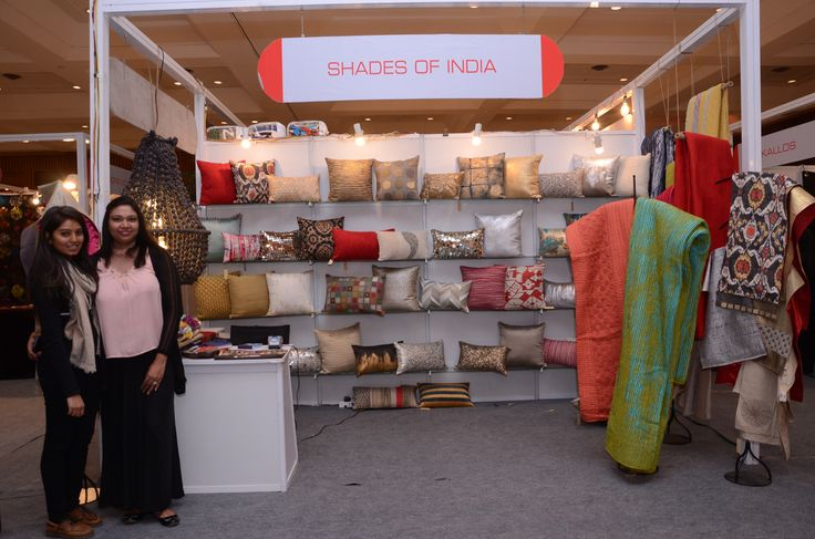 #ShadesOfIndia -India's leading creators of Home Fashion!! #colors #contrast #Contemporary #designs #traditional #artisans #heritage #homefurnishing #accessories #interiors   #HosefullExhibition #RamolaBachchan