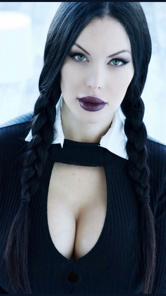 Busty And Beautiful | Goth in 2019 | Goth beauty, Gothic ...