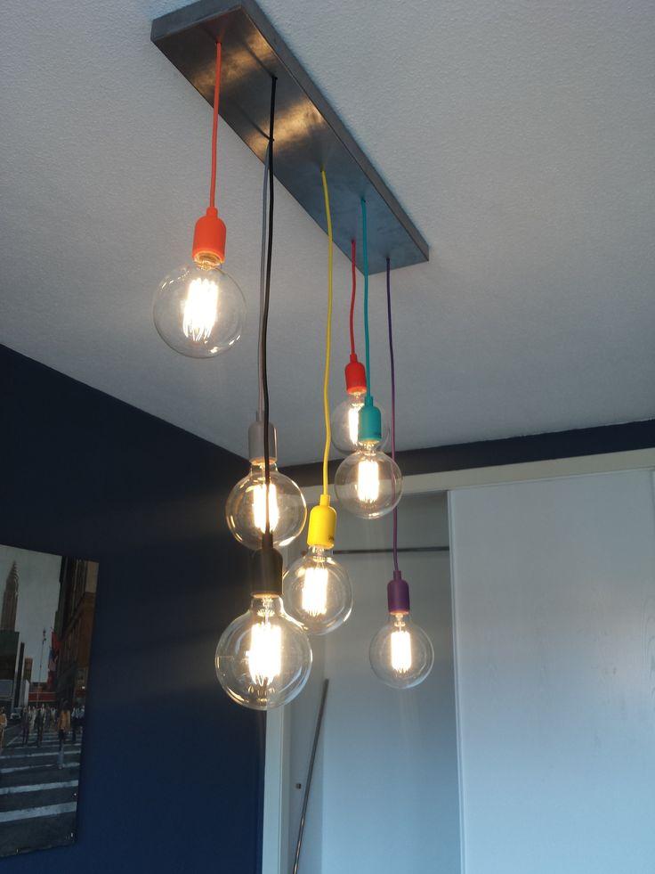 Estamos encantados con nuestros clientes y su imaginación! Hacen unas combinaciones con nuestro modelo CAVA y las bombillas LED de globo 01415