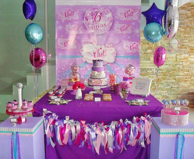 Cupcake's house: Mesa Dulce, Fiesta de Violetta