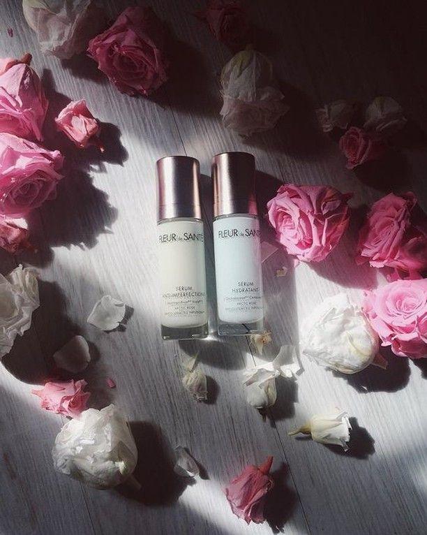 Beautiful @lyloutte enjoying our Power Anti-Blemish Skin Smoothing Serum and Pro Aqua Essence 3D Skin Hydrating Serum💗