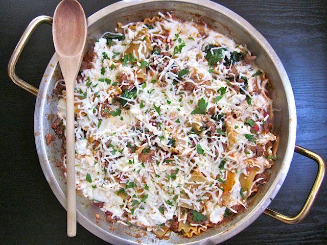 Skillet LasagnaDinner, Italian Sausage, Chicken Recipes, 1 96 Servings, Easy Entertainment, Sausage Skillets, 11 73 Recipe, Skillets Lasagna Gonna, Lasagna Recipes
