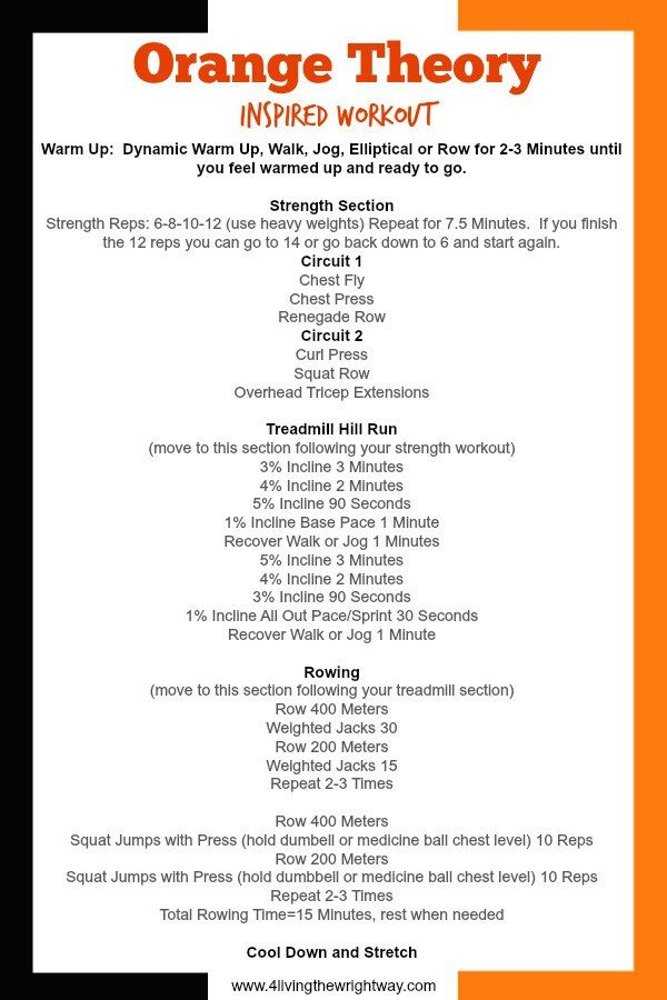 25+ best ideas about Orange Theory Fitness on Pinterest ...