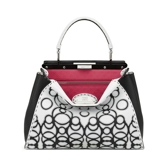 The special Fendi Peekaboo bag personalized by Takahashi Hiroko for the Peekaboo Charity Auction in Japan