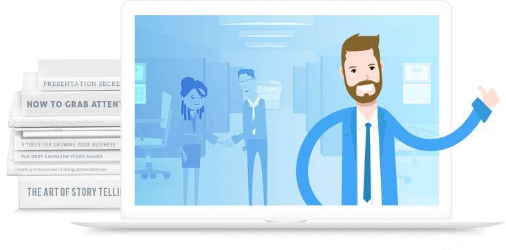 Free animation templates from the PowerPoint Alternative: PowToon