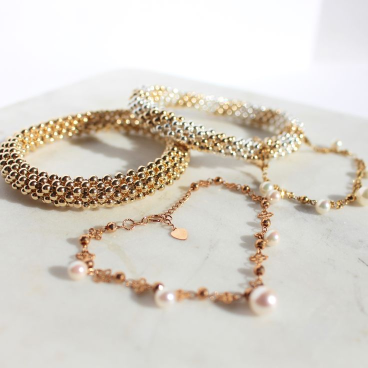 Silver and Gold...and Pearls <3