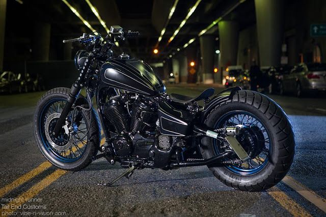 2007 Honda shadow vlx 600 / By Tail End Customs