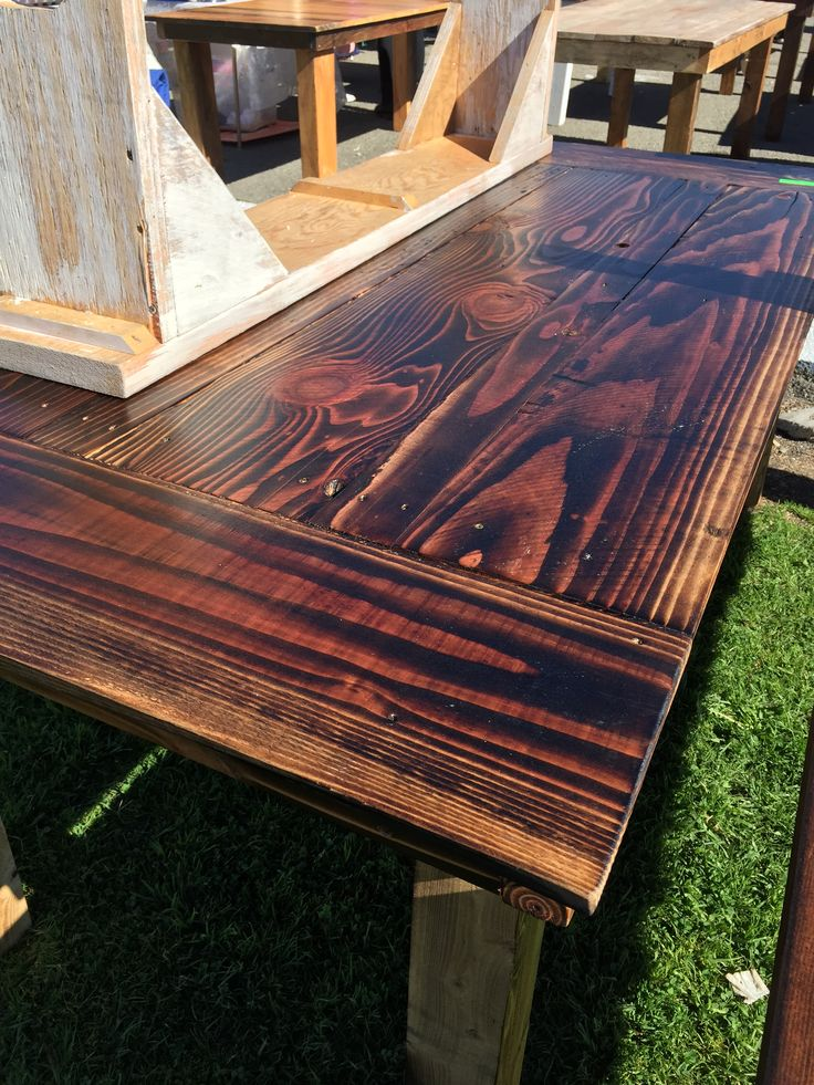 1 Of A Kind, Handmade Indoor/outdoor Dining Table, 100% Reclaimed Wood, By  The 1 And Only Vinceu0027s Wood Work. Seen Today At The Treasure Island Flea In  San ...