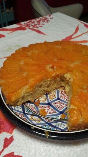 Torta rovesciata albicocche