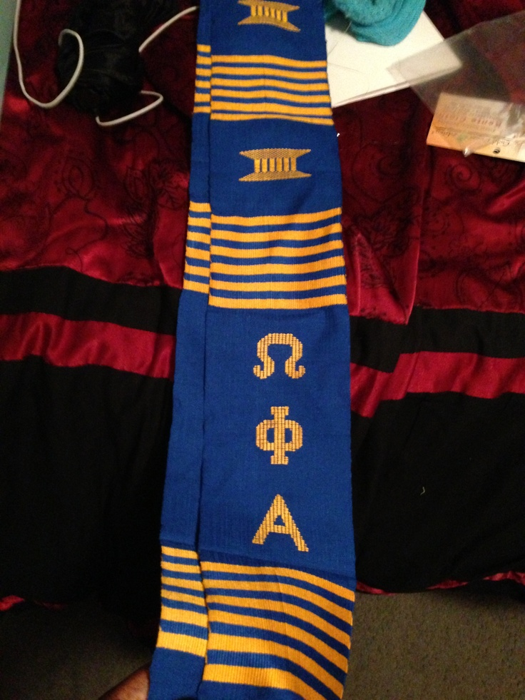 Graduation Stole From Onegreekstore Com Omega Phi Alpha