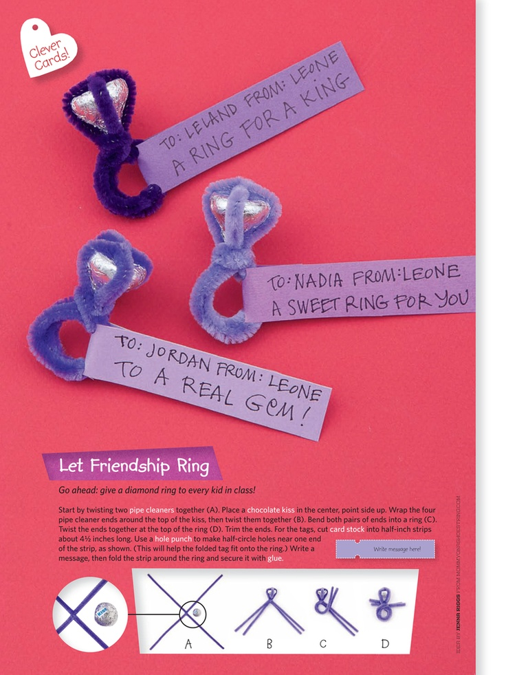 Creative Valentines for kids
