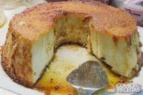 Receita de Pudim de pão em receitas de pudins, veja essa e outras receitas aqui!