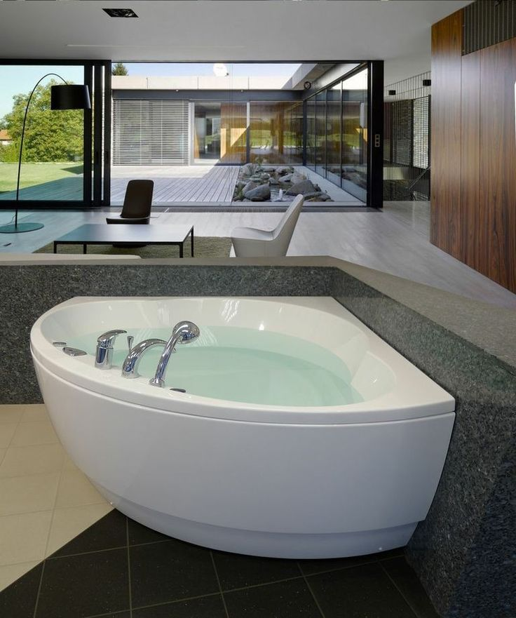129 Best Corner Tubs Images On Pinterest