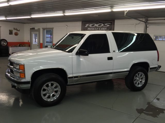 Chevrolet Blazer Suv 1992 White For Chevy Tahoe Chevrolet