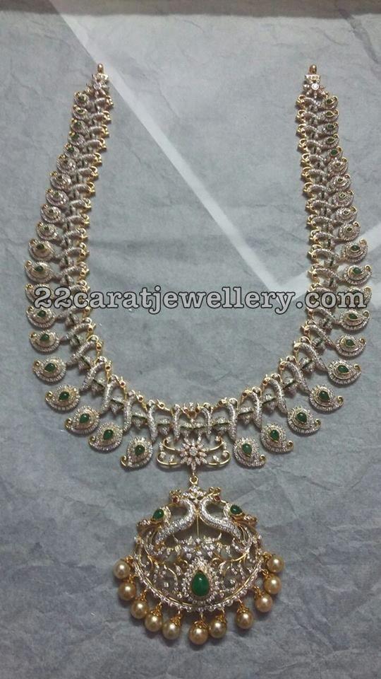 160 Grams Diamond Peacock Set